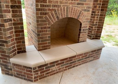 Fireplace Surround - Bullnose Hearth