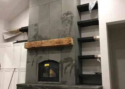 Fireplace Surround - Custom 3
