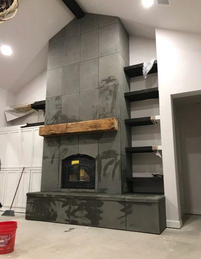 Fireplace Surround - Custom 3