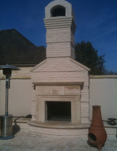 gallery outdoor fireplace
